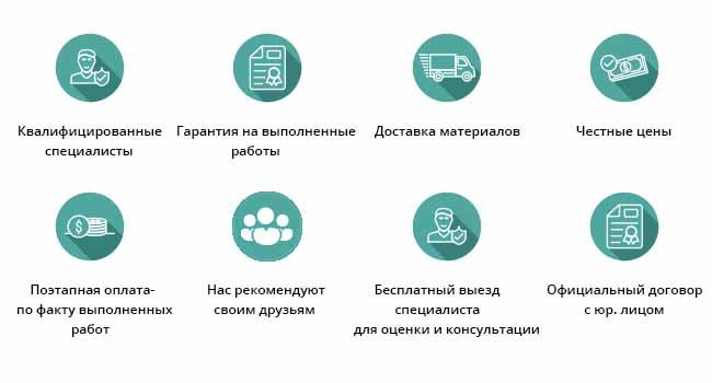 Преимущества ремонта от компании Gammaremont.ru