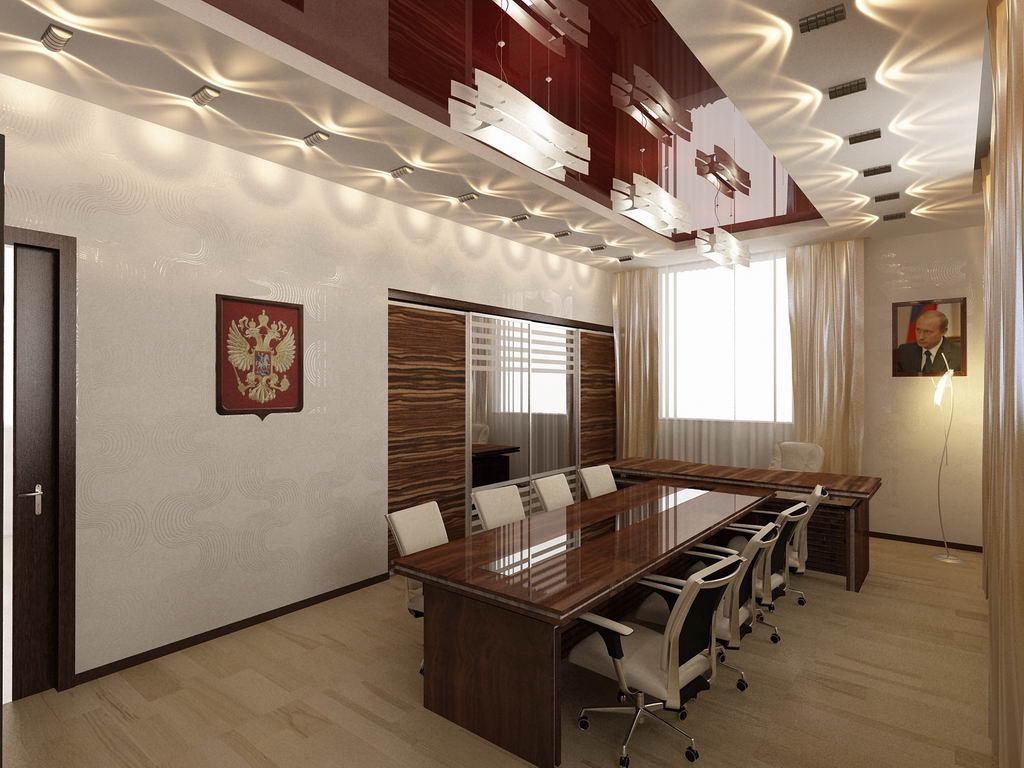 Ремонт офисов под ключ от компании GammaRemont.ru